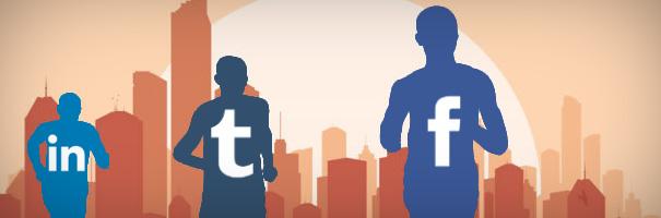 Facebook, Twitter and LinkedIn - B2B's Social Media Triathlon