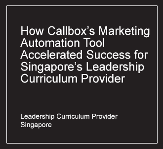 Event Telemarketing Case Study: Success for Singapore's Leadership Curriculum Provider