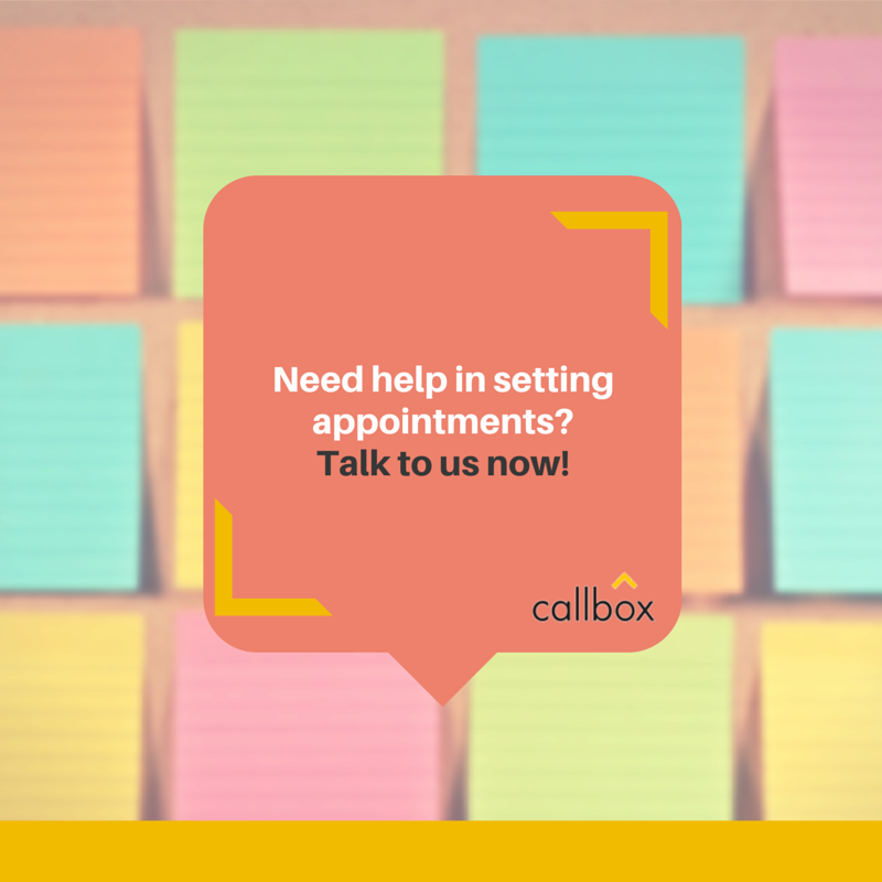 Need help in setting up appointments?