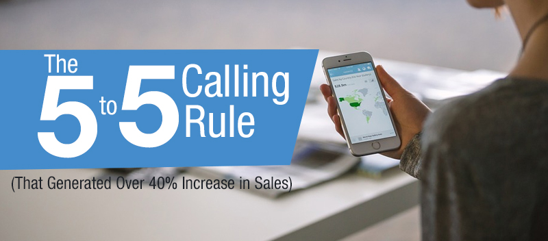 "The 5 to 5 Calling Rule In over a decade of delivering multi-channel marketing programs, valuing our business means valuing our clients' businesses even more, constantly pushing us to pursue increased productivity for both. We exert selfless effort in acquiring new knowledge and developing skills to be able to achieve the goals we set.  Related: Multichannel Marketing: Is It Worth Adopting To?  In this article, find out how Callbox created and employed a '5 second to 5 minute"" calling process that generated over $350,000 additional revenue or a 40% increase in sales.  Goal During the 2014 goal setting meeting, Callbox saw an increase in inbound traffic from different channels like Email, Calls, SEO, and Social Marketing, which required immediate action to cater to the sudden surge in inflow.  Aside from adding more members to the Calling Team to handle more inquiries, the team addressed the issue by further expediting the process of answering the customers' queries and addressing any concerns they may have.  Thus, the  ""5 to 5 Rule"" was created.    Process The 5 to 5 Rule was, and is still an active calling process effectively employed by the team, in 3 easy steps:  Step1: All inquiries coming through the multiple channels including Inbound/Outbound Calls, Email Responses, SEO and Social Marketing were monitored real-time by the Response Team and checked within 5 seconds.  Step2: The Response Team transfers the inquiry to the Calling Team for further qualification, a process that takes anywhere within 1.5 to 2 minutes.  Step3: Once the query is deemed qualified, the Calling Team transfers the call to the Outside Sales Team to take the prospect's requirements, and must be a subject for Sales Proposal, before the 5 minutes threshold lapses.     Real-time Monitoring Chance Rate at Second Intervals  5 seconds Rule of Calling Inbound Leads  Software Advice, The Online B2B Buyer Behavior Report by Derek Singleton     Conversion Chance Rate by Minute Intervals  Conversion Chance Rate in Minute Intervals - The 5 to 5 Calling Rule for Inbound Leads (That Generated Over 40% Increase in Sales)  The shortest time that the inquiry is addressed, begets higher chance of converting the query to a Lead, to a Proposal, and to a Close. tweet this!  Once the Response Team receives the inquiry, it has to be checked through within 5 seconds for transfer to the Calling Team.  This clearly requires that the Calling Team be ready at all times to take transfers and be able to qualify the inquiry within 1.5 to 2 minutes only.  You might also like: A Case Study: How Telemarketing Boost Online Advertising  Once qualified, the OS Team is quick to take the transferred call and present Callbox's products and services to the prospect in a period of 2 to 2.5 minutes.  Practically speaking, conversation between the prospect and the OS may go beyond the 5-minute period, but should only bear clarification of details, verification of contact information and setting of appointment for a follow-up call regarding the Sales Proposal.  Even David Dodd of  Customerthink.com pinned it when he wrote this article, 'Are Your Lead Response Practices Costing You Sales?'     Results The team saw a spike in Leads, Proposal Rates and Closes. Since inquiries were monitored real-time and quickly reviewed and qualified, the number of Leads increased, resulting to more sales proposals drafted and sent to prospects. As these proposals comprehensively present all the details of our products and services, the chance rates of closed sales also increased, while abandoned calls and emails significantly decreased.  Callbox  2014 and 2015 Leads, Proposals and Closes Data - The 5 to 5 Calling Rule for Inbound Leads (That Generated Over 40% Increase in Sales)  The success of the ""5 to 5 Rule"" is a product of a willingness to innovate at a quick pace and see necessary changes through to the end of the process."
