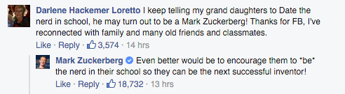 Mark Zuckerberg's Best and Inspiring Response to Grandma Becomes Viral