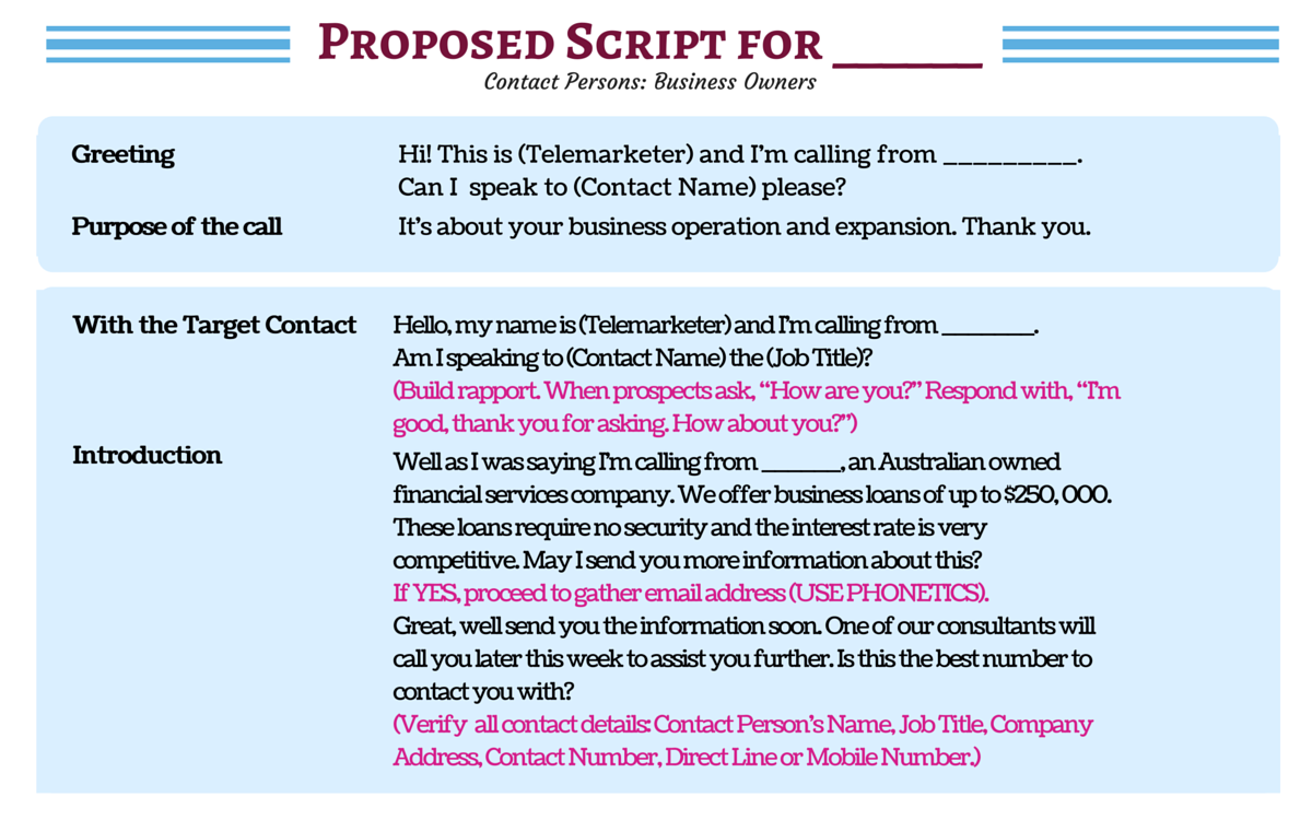 Don 39 t waste a moment see sample cold calling scripts for Email cold call template