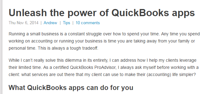Unleash the Power of Quickbooks Apps - 5 Perky Blogs in the Payroll Industry: Which Content Strategy Stand Out?