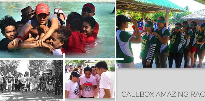 Callbox Amazing Race