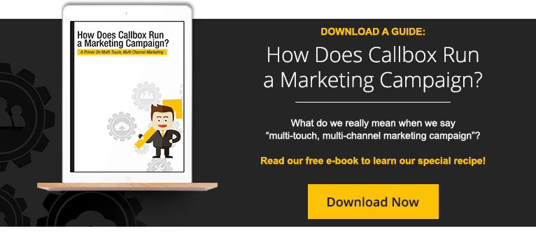 HOW DOES CALLBOX RUN A MARKETING CAMPAIGN?