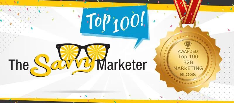 Callbox Blog: The Savvy Marketer Earns on Top 100 B2B Marketing Blogs