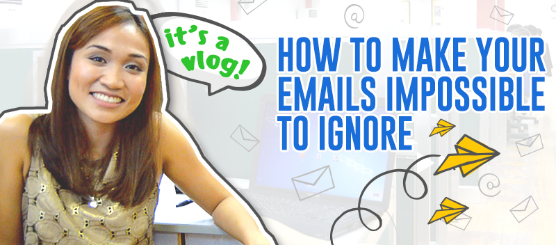 Email Marketing Series: How to Make Emails Impossible to Ignore [VIDEO]
