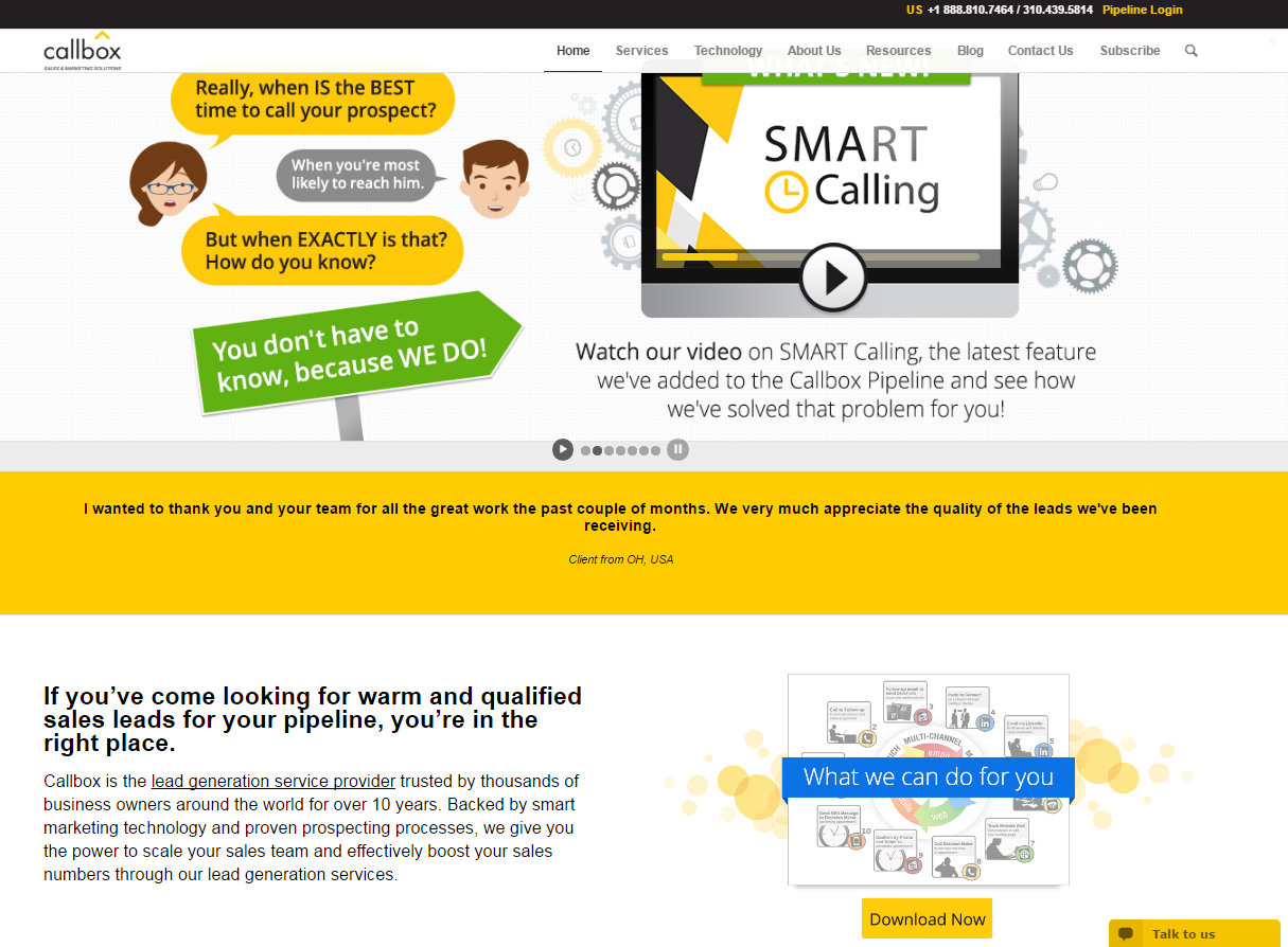 Callbox - Best Sales Lead Generation Services