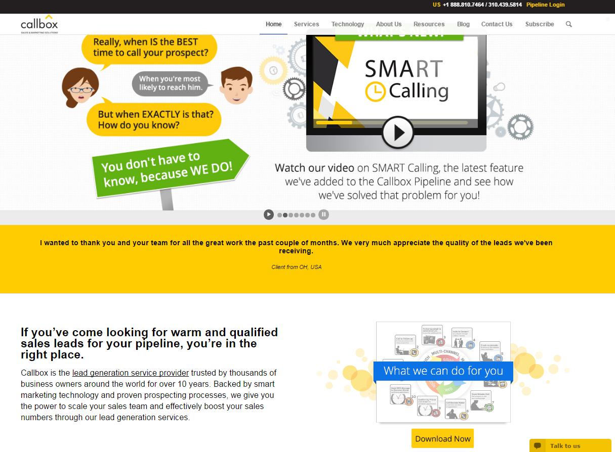 Callbox - Best Sales Lead Generation Services