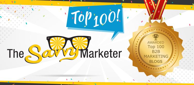 Callbox Blog: The Savvy Marketer Earns a Spot on Top 100 B2B Marketing Blogs