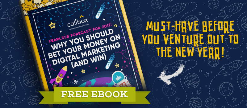 Why You Should Bet Your Money - Digital Marketing Statistics 2017 [FREE EBOOK]