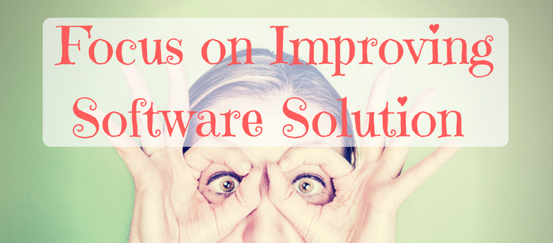 Forget About Marketing, Focus on Improving Software Solution