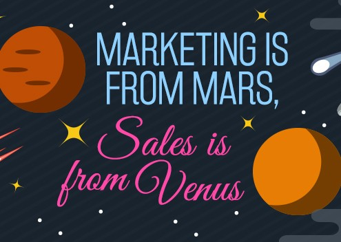 Marketing is from Mars, Sales is from Venus