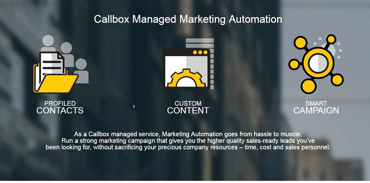 Lear more about Callbox Managed Marketing Automation