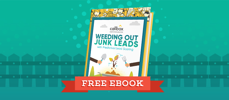 Weeding Out Junk Leads with Predictive Lead Scoring Guide [FREE EBOOK]