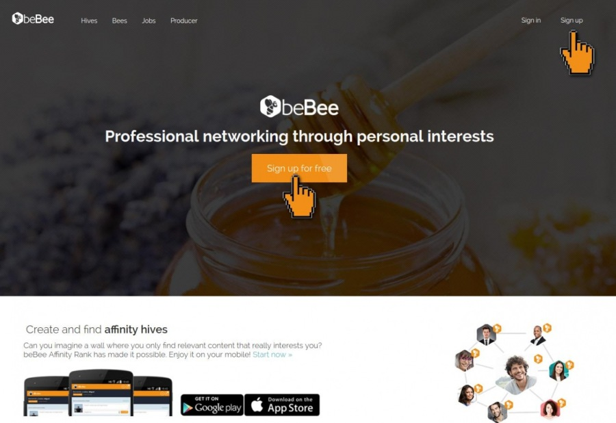bebee sign up