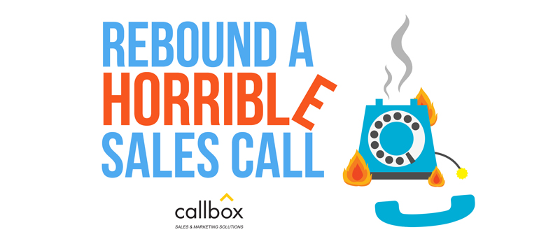 What to do After a Horrible Sales Call? [VIDEO]