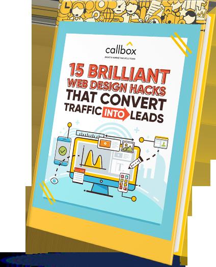15 Brilliant Web Design Hacks That Convert Traffic into Leads eBook Cover