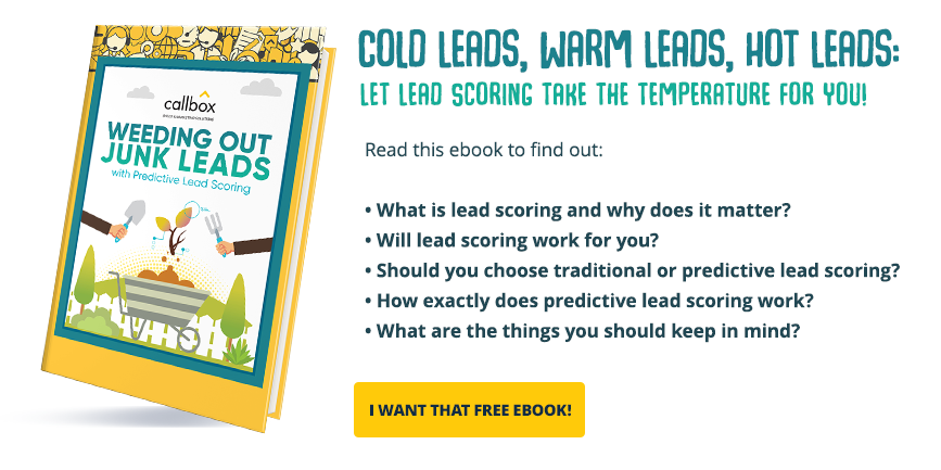 Weeding Out Junk Leads with Predictive Lead Scoring