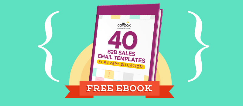 B2B Sales Email Templates For Every Situation [Free Pdf]