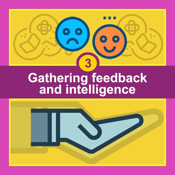 Gathering feedback and intelligence - Lead Generation Goals