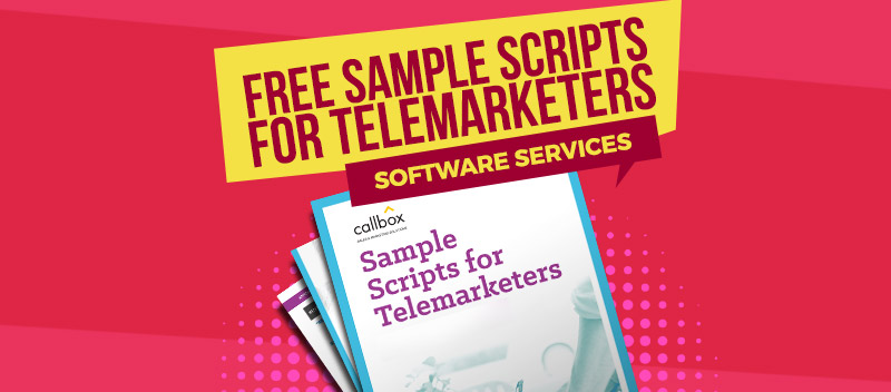 Sample Scripts for Telemarketers - Software Services