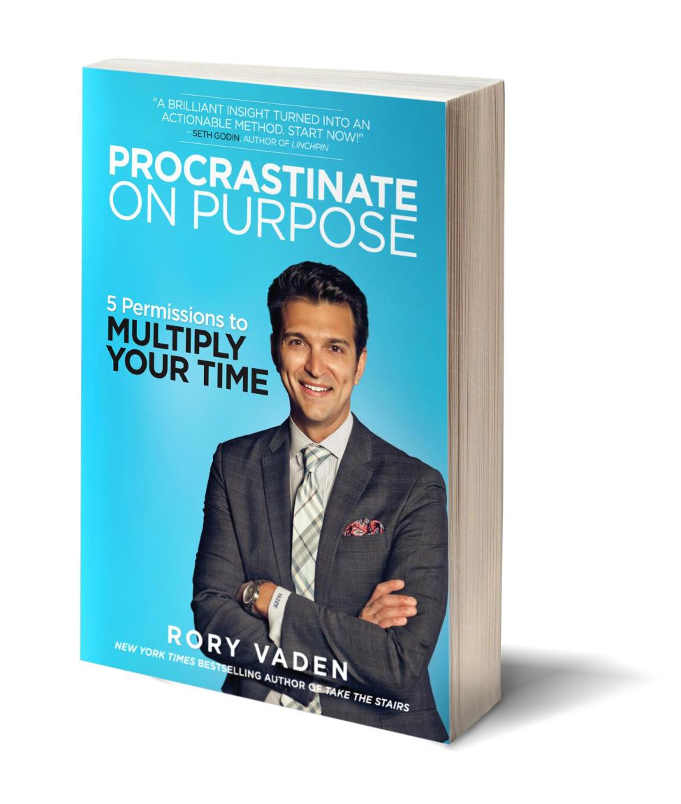 Procrastinate on Purpose: 5 Permissions to Multiply Your Time (Rory Vaden)