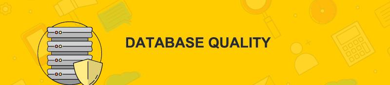 Database Quality