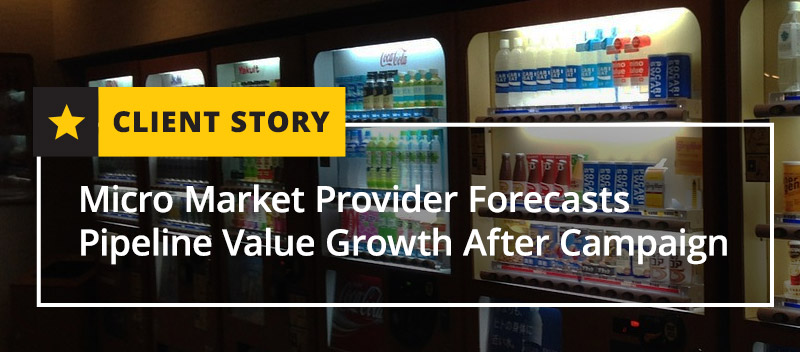 Micro Market Provider Forecasts Pipeline Value Growth After Campaign
