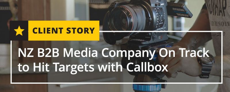NZ B2B Media Company On Track to Hit Targets with Callbox