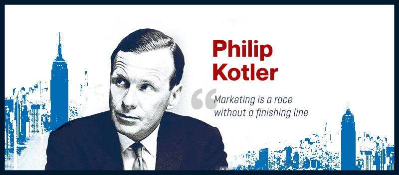 Philip Kotler (The Father of Modern Marketing)