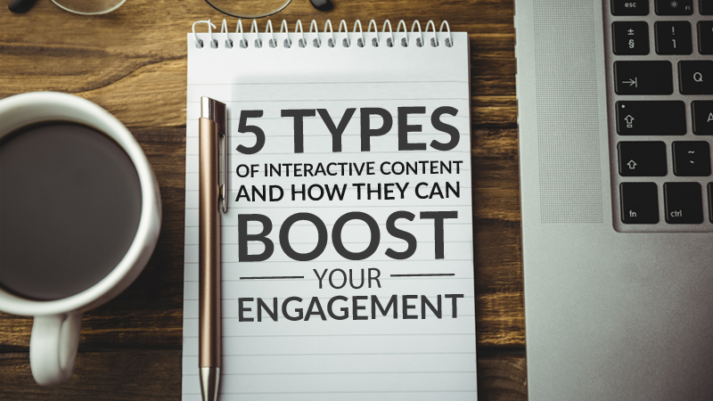5 Types of Interactive Content and How They Can Boost Your Engagement