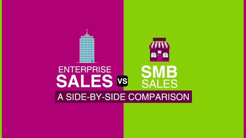 Enterprise Sales vs SMB Sales: A Side-by-Side Comparison