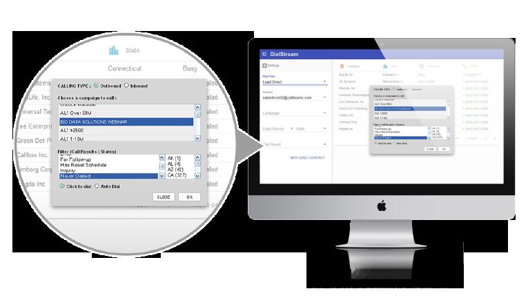 DialStream's Auto-Dial feature