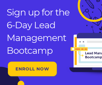 The 6-day Lead Management Bootcamp CTA