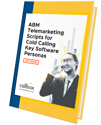 ABM Telemarketing Scripts for Cold Calling Key Software Personas