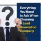 Everything You Need to Ask When Choosing a Lead Generation Company (Featured Image)