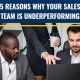 5 Reasons Why Your Sales Team is Underperforming