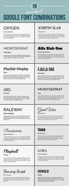 google-fonts-pairing