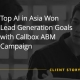 Top AI in Asia Won Lead Generation Goals with Callbox ABM Campaign