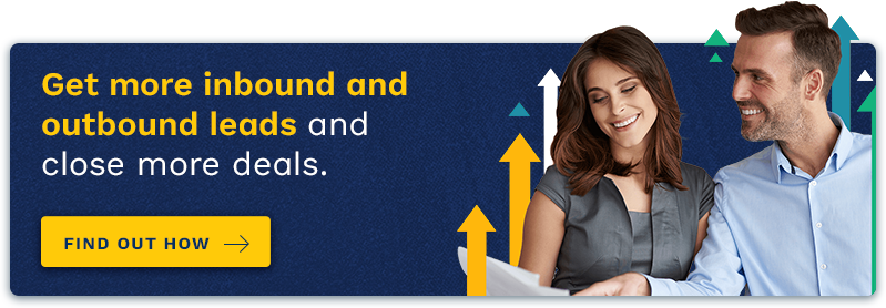 Get more inbound and outbound leads and close more deals